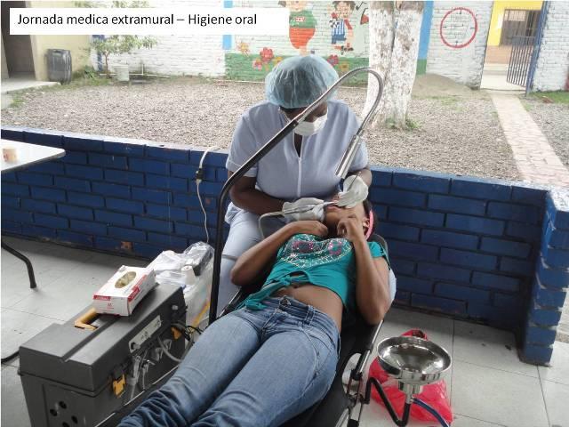 Jornada médica extamural - Higiene oral