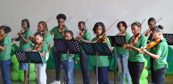 La música un aliado para la ocupación del tiempo libre de niños y niñas de Puerto Tejada
