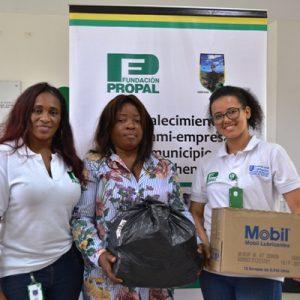 Fundación Propal y Alcaldía de Guachené continúan apoyan las famiempresas del municipio