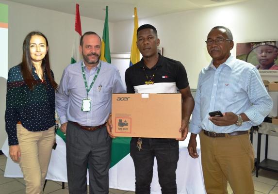 Fundación Propal y Alcaldía de Puerto Tejada apoyando el emprendimiento en el municipio