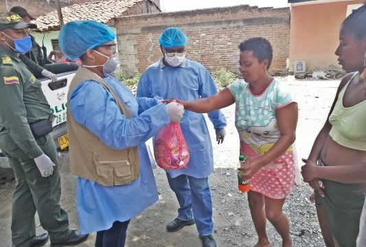 La Fundación Propal presente en la región del Norte del Cauca con ayuda humanitaria mitigando la emergencia del Covid-19