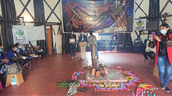 Madres comunitarias de Silvia -Cauca reciben Kit pedagógico por parte del convenio +Mas comunitario