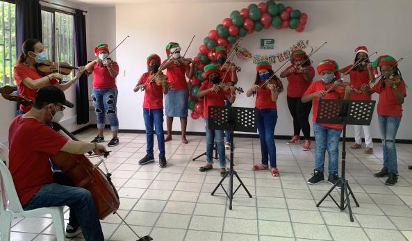 Concierto de Navidad Escuela de violín y violoncello