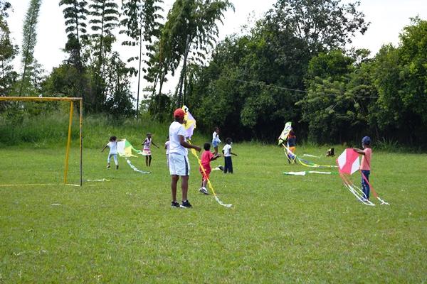 Reencuentro lúdico y deportivo para los niños y niñas de El Guabal