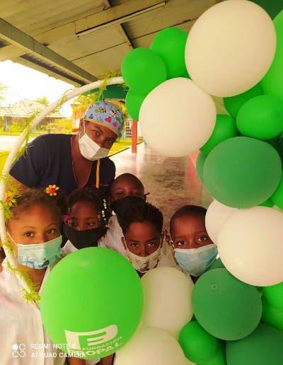 Apoyamos a los niños y niñas de la vereda El Guabal en su desarrollo físico y mental